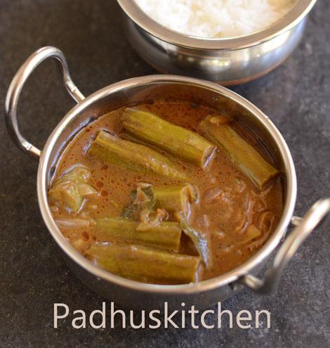 Drumstick Kuzhambu-murungakkai puli kuzhambu