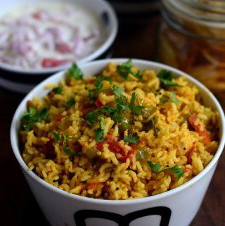 Brinjal Rice/vangi bath/kattirikai sadam