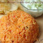 Tomato Rice-Thakkali Sadam