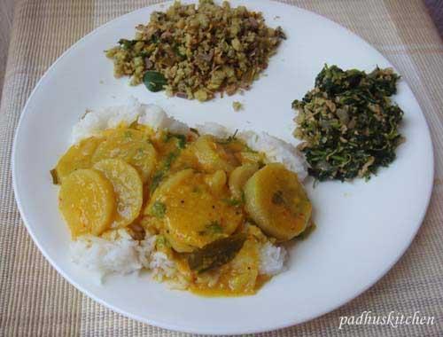 Radish Arachuvitta sambar