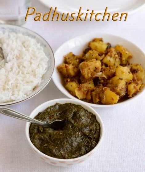 Gongura Chutney-Gongura Pachadi (Andhra style)