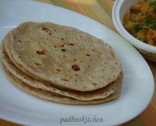 Roti-Indian flat bread