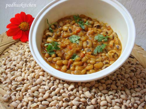 Black eyed pea curry/gravy