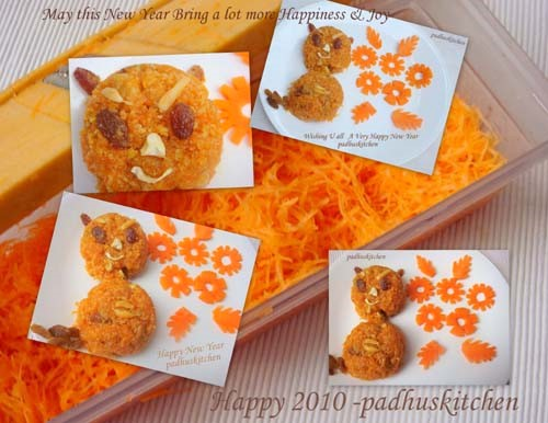 Easy carrot halwa recipe