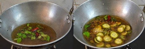 how to make bitter gourd pitlai