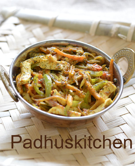 paneer vegetable curry