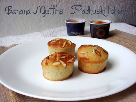 how to prepare banana muffins