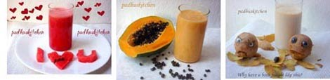 Fruit juice-smoothie-milkshake