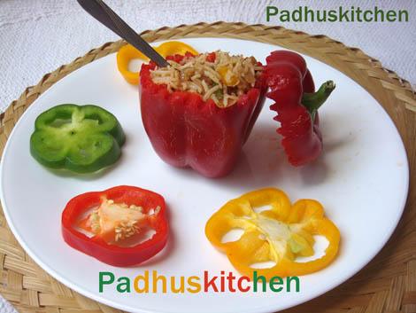 Bell pepper rice