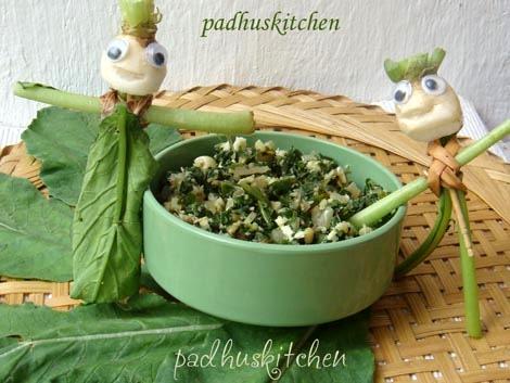 Radish greens