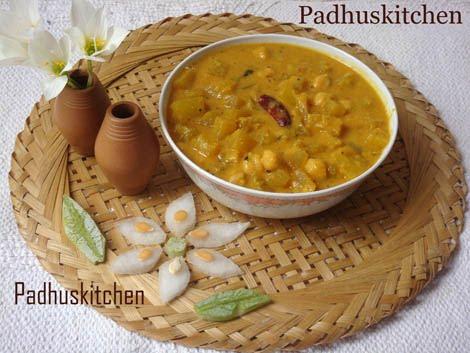 ash gourd kootu-poosanikai kootu recipe