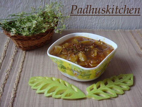 Sweet Mango pachadi recipe-Tamil New Year special