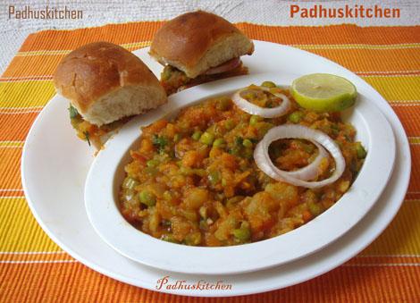 Pav Bhaji Recipe-Pav Bhaji Masala