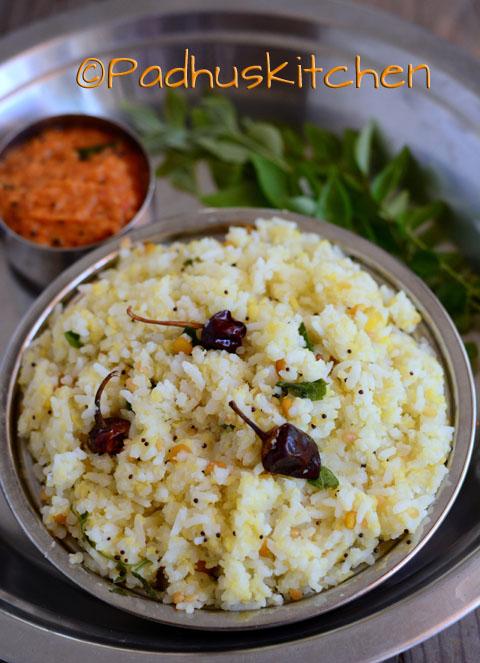 Pasi paruppu sadam- moong dal rice