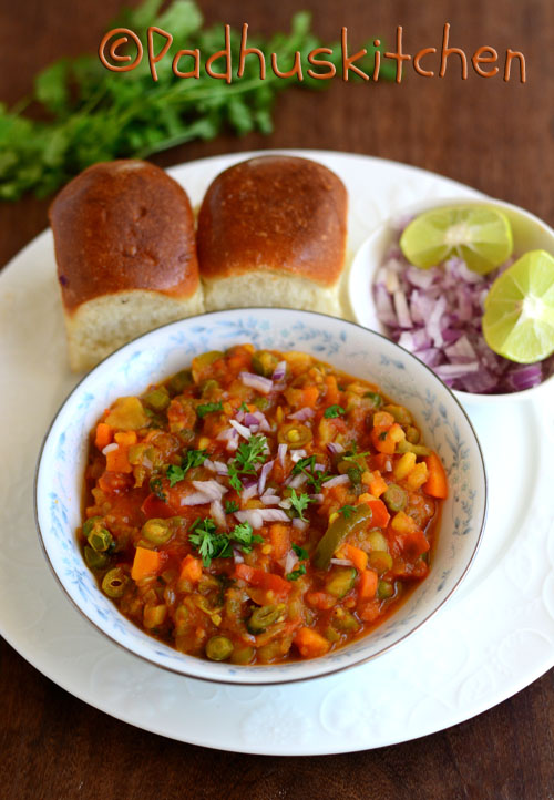 Pav Bhaji-Pav Bhaji Recipe
