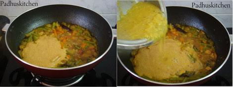 How to make sambar sadam