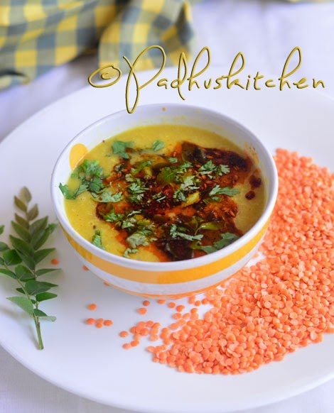 Masoor Dal Tadka-dal tadka recipe