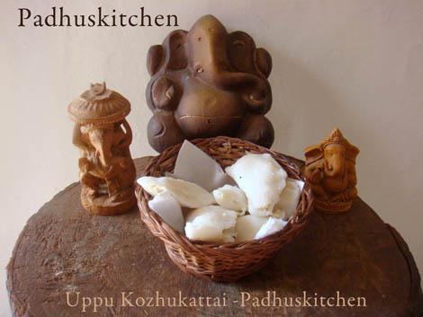Uppu Kozhukattai recipe