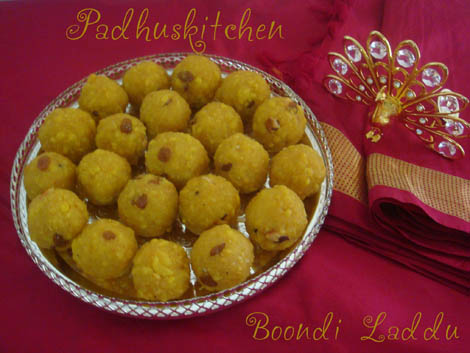How to prepare boondi laddu-boondi laddu