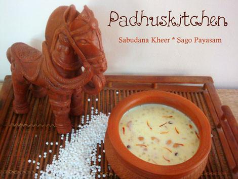 Sabudana Kheer-Sago payasam-Javarisi Payasam