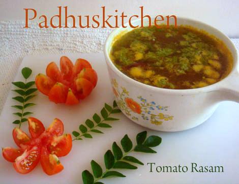 Tomato Rasam-Thakkali rasam