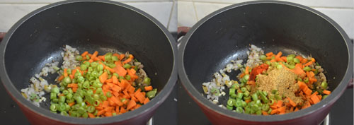 samba gothumai rava khichdi with vegetables