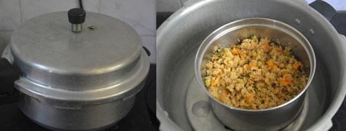 cracked wheat khichdi recipe