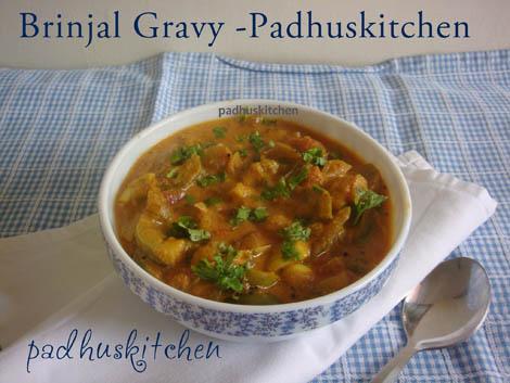 Brinjal masala-side dish for pulao, coconut rice