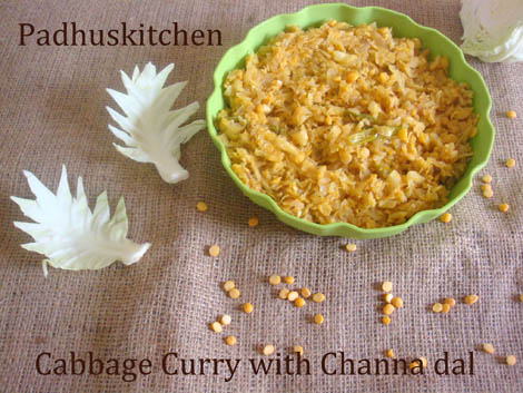 cabbage curry-cabbage curry with channa