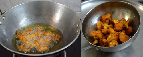 how to make cauliflower fry