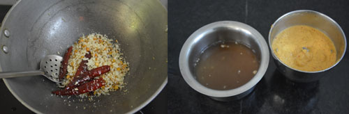 tamarind extract and ground paste