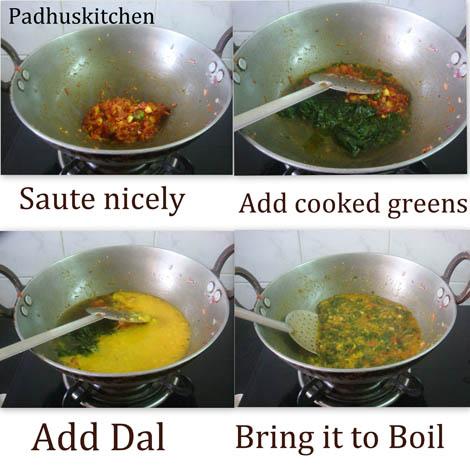 How to make Keerai Kootu