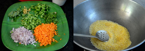 how to make cracked wheat upma