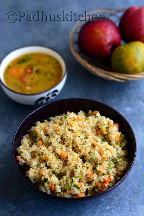 Cracked Wheat Upma-Dalia (Broken Wheat) Upma-Samba godhumai rava upma