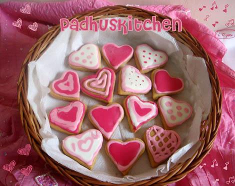 Sugar cookies--Valentine's Sugar Cookies