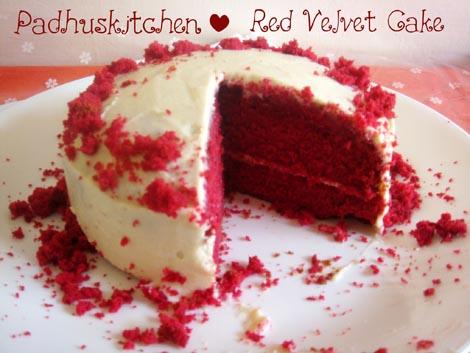 -Red Velvet Cake