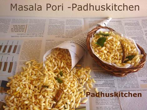 Spicy puffed rice-Kara Pori