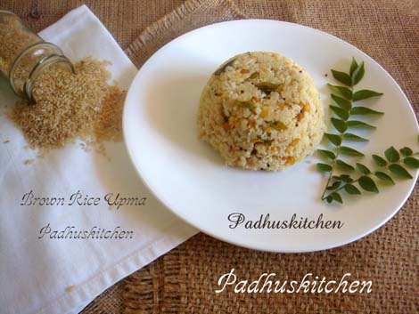Brown Rice Upma