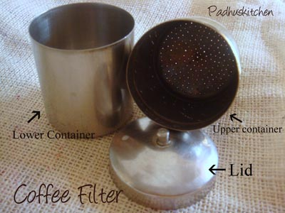 Coffee filter-South Indian Coffee filter
