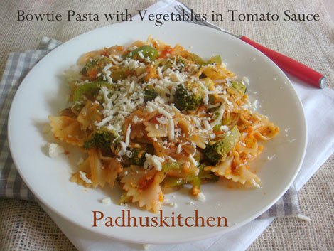 Vegetarian Pasta Recipe (Indian)