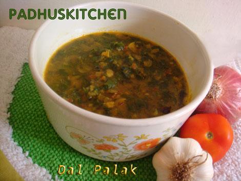 Dal Palak-Spinach dal