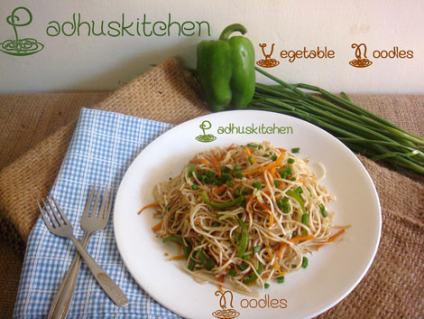 Vegetable Noodles-How to make veg noodles