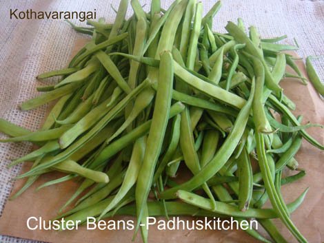 Cluster Beans-Kothavarangai