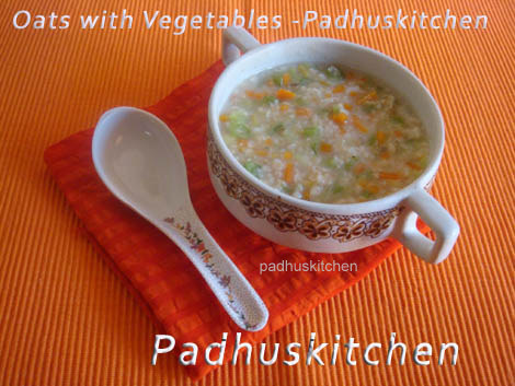 Oats with Vegetables