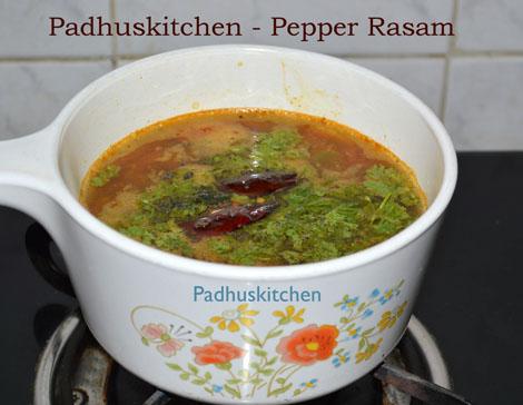 Pepper Rasam-Milagu Rasam