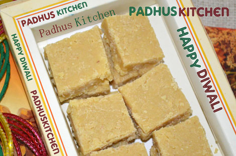 7Cup Burfi Recipe