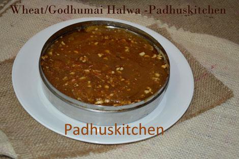 Wheat Halwa-Godhumai Halwa