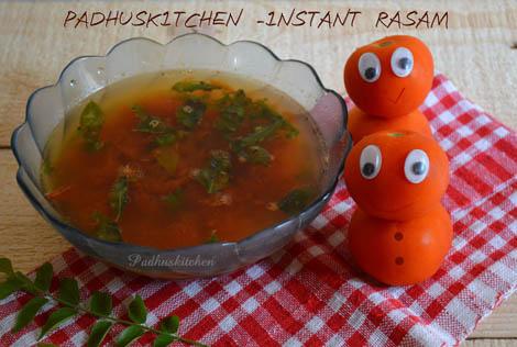 Instant Tomato Rasam-thakkali rasam