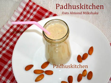 Oats Milkshake Recipe