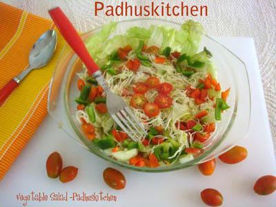 Indian vegetable salad